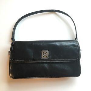 Giani Bernini Black Leather Handbag - Small